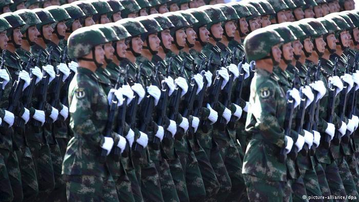 德国之声 | 今年中国国防预算增幅预计约为10%