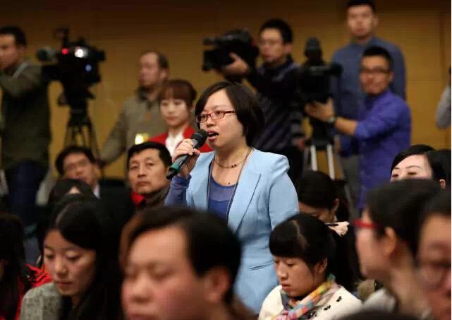 南都记者徐艳向财政部部长提问