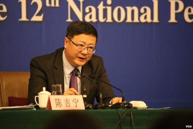 中国环保部长