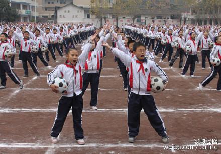 中国将拍首部校园足球电影 河南将建1500所足球特色学校
