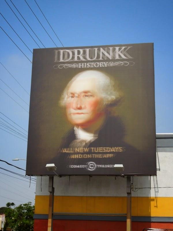 George Washington Drunk History season 2 billboard