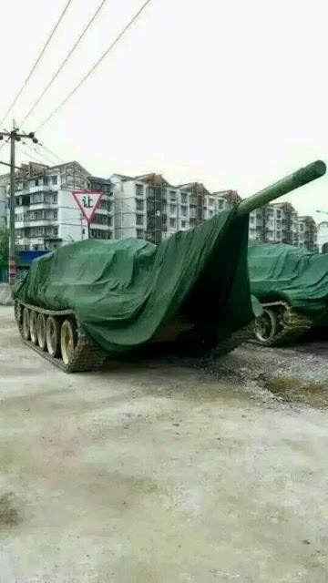 这是网络流传的坦克图片,仍未证实是来自邻水