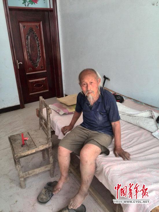 103岁的耿生茂