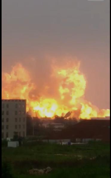 爆炸前两月 日照质监局称为涉事化工厂解除重大安全隐患