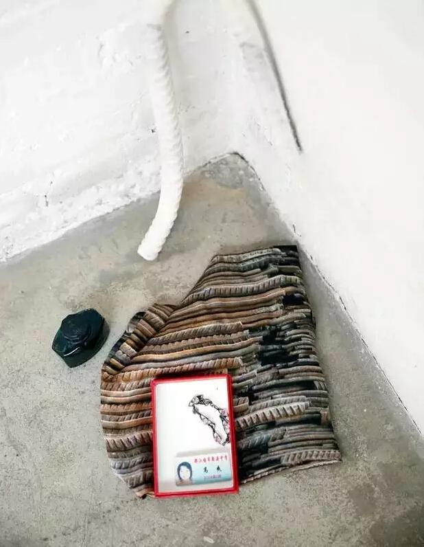 手链、学生卡、墨水 汶川地震后,艾未未在都江堰聚源中学的地上捡的。2009年,他发起地震遇难学生调查,学生卡上的高爽是名单中的一个。