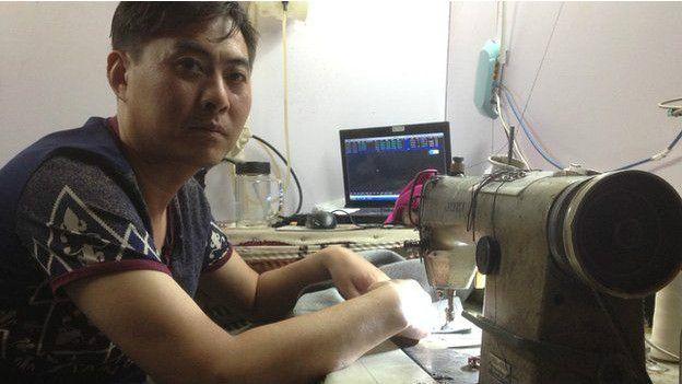 陈智慧说他知道很多邻居都和他一样在股市中赔了钱。