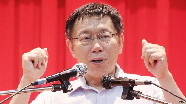 台北市长柯文哲在个人脸书专页上为警方逮捕记者一事道歉。