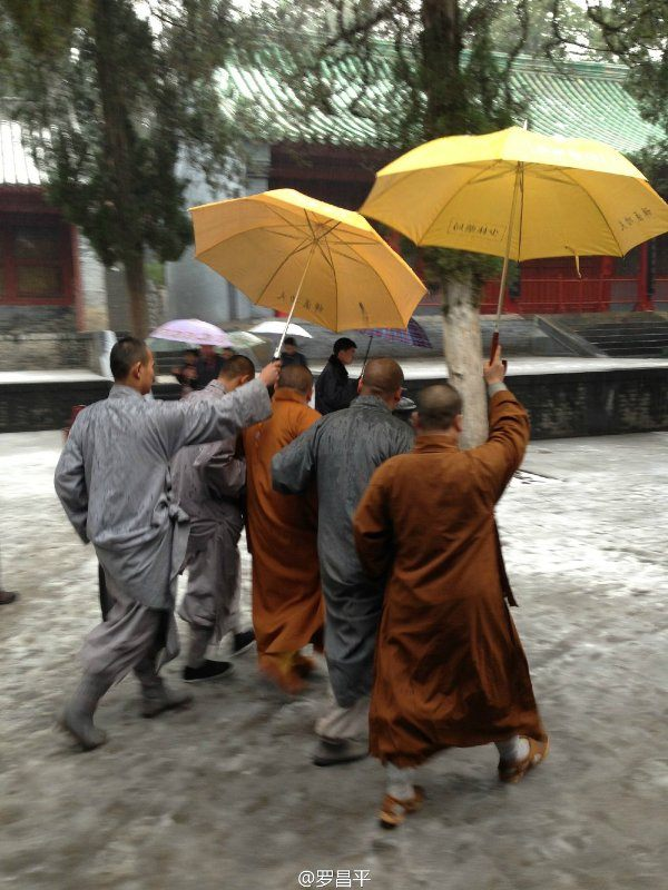 【图说天朝】雪中造访少林寺 偶遇方丈释永信