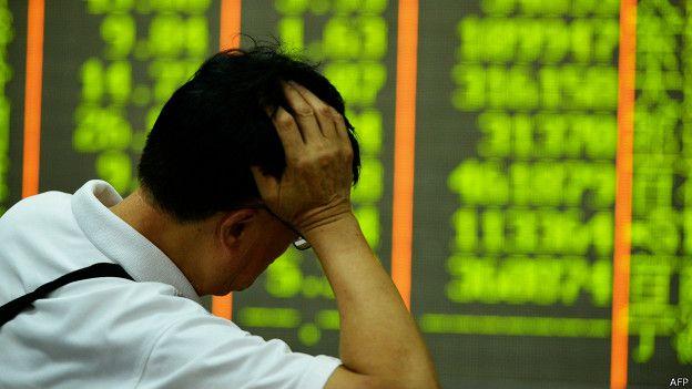 BBC | 中国股市继续暴跌 上证指数跌破三千大关