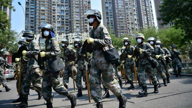天津市政府强调泄漏的氰化钠在可控范围内
