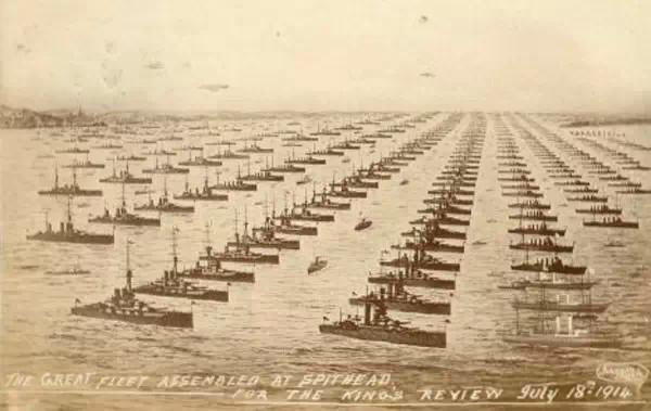 1914年阅舰式
