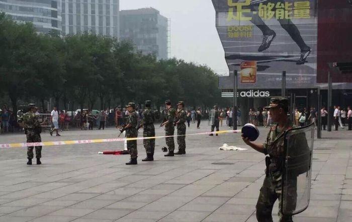 法广|北京三里屯狂人疯杀 中法新婚人一死一伤