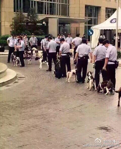 美国之音|香港多位反占中骨干及警员赴京阅兵
