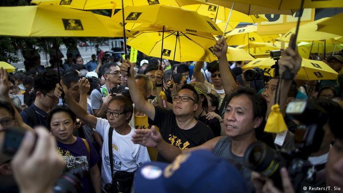 美国之音|支持香港占中 中国一网民被判刑18个月