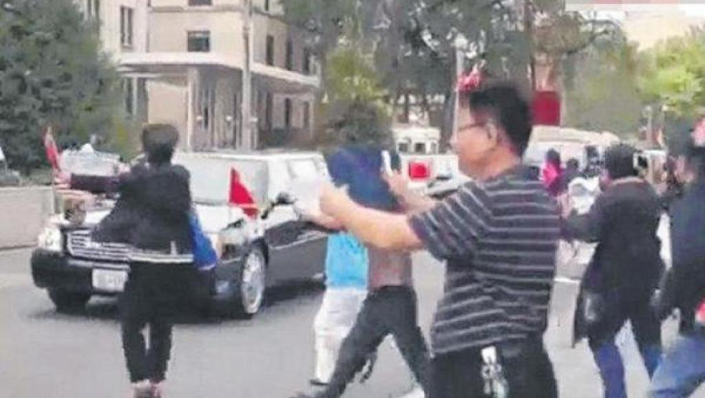 法广|中共高层拟追究习近平访美时遭抗议及拦驾喊冤事件责任