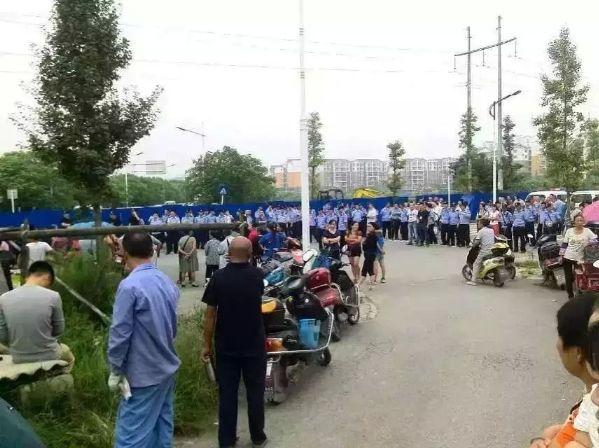 自由亚洲 | 四川崇州村民阻燃气站施工六人被打伤送医