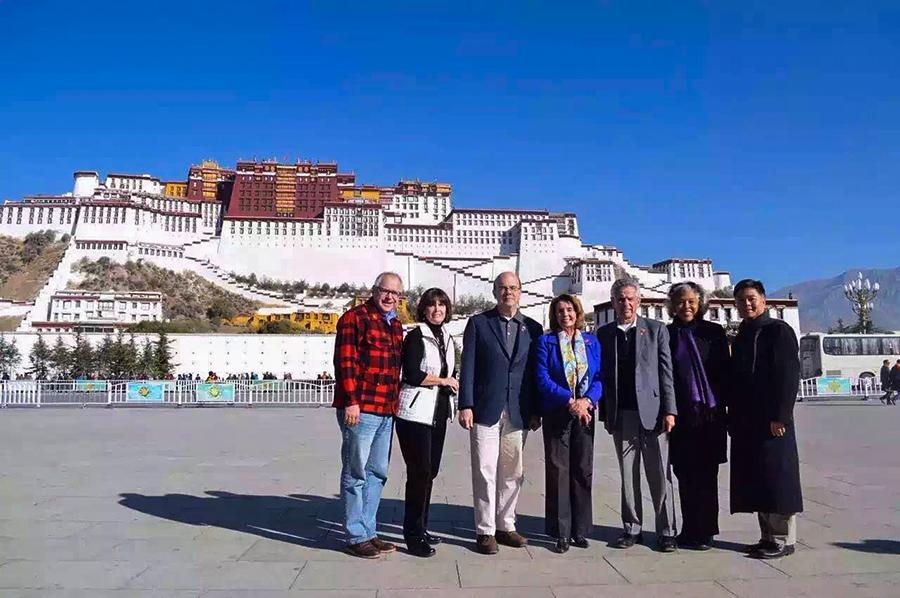 US-delegation-made-a-visit-to-Tibet