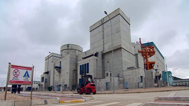 截至2014年底中国已建成核电站22座。