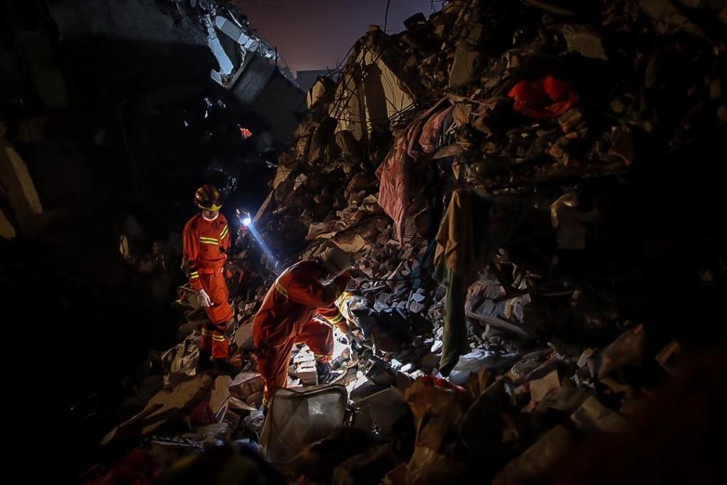 深圳工业区山泥倾泻