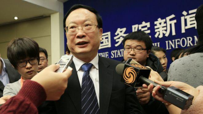中纪委网站发表声明前仅几个小时,王保安还出席了有关经济数字的新闻发布会。