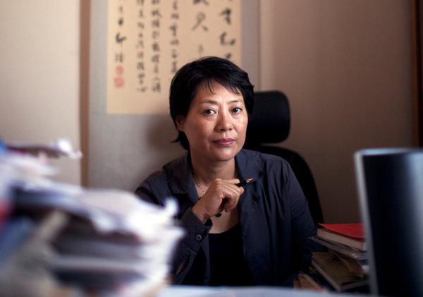郭建梅是北京众泽妇女法律咨询服务中心的创办人。她说政府下令该中心停止运营。