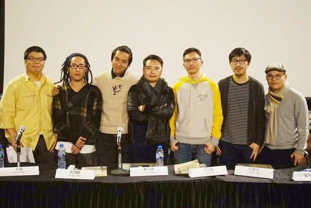 香港独立电影《十年》为香港探讨未来出路,由5名新晋导演合作拍摄,院商疑自我审查,票房急升仍在新春落画。(照片来自欧文杰,拍摄日期不详)