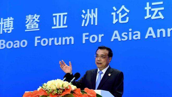 李克强在博鳌论坛上再次阐释中国的宏观经济政策。