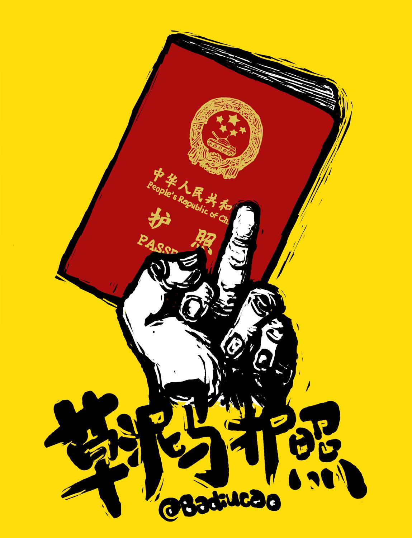 1 草泥马护照