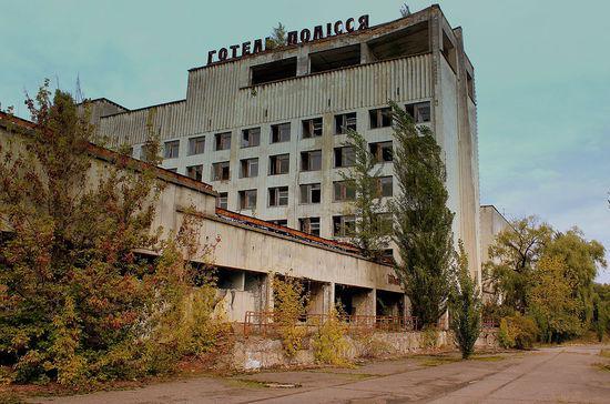 切尔诺贝利被遗弃的宾馆 calflier001/Flickr