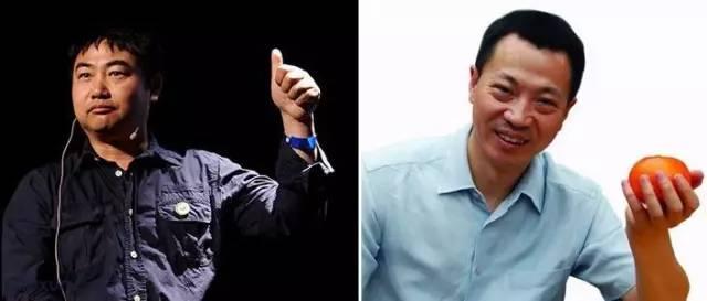 """左:2000 年,湖北省监利县棋盘乡党委书记李昌平上书朱镕基,反应""""三农""""问题,引发中央及舆论广泛关注。右:2015 年 3 月,桔子水晶酒店集团 CEO 吴海在自己的微信公众号上发表致总理的公开信,同年五月,国务院办公厅邀其作为公民代表,参会讨论政府简政放权"""