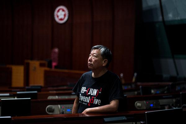 李卓人,立法会议员、抗议领袖