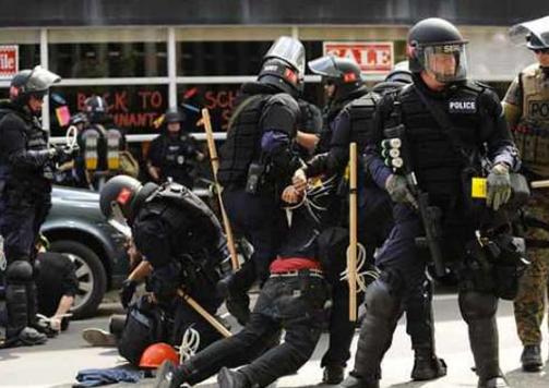 政见   面对暴力执法,你会怎么做?