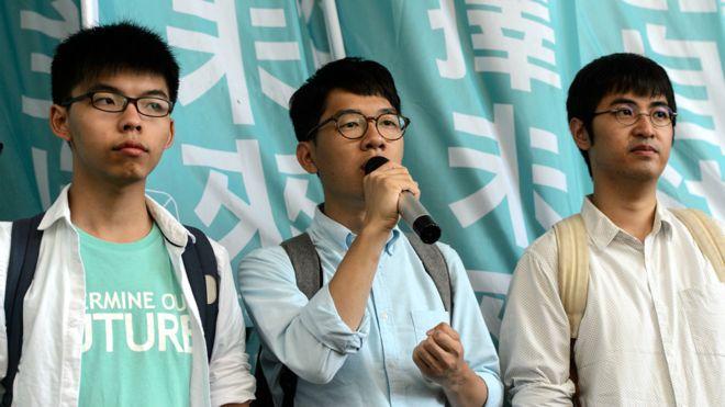 "BBC | 香港""冲击广场""案 黄之锋罗冠聪周永康被判有罪"