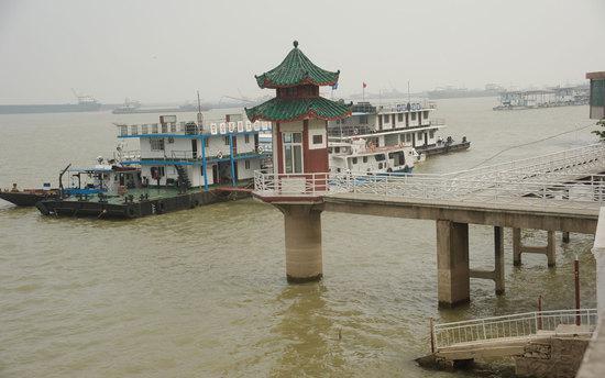2012年08月10日,城陵矶(七里山)水文站。/视觉中国