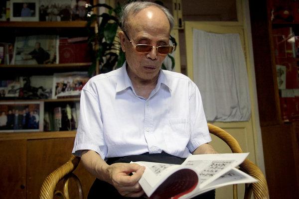 Gerry Shih/Associated Press 《炎黄春秋》创办人兼社长杜导正。对言论的限制在习近平治下被收紧,让这本杂志的生存受到了威胁。
