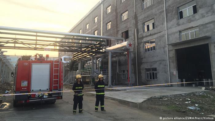 德国之声|湖北电厂爆炸:数十人死亡 记者遭阻拦