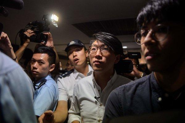 纽约时报|港独人士被禁参选再度拷问香港政治自由