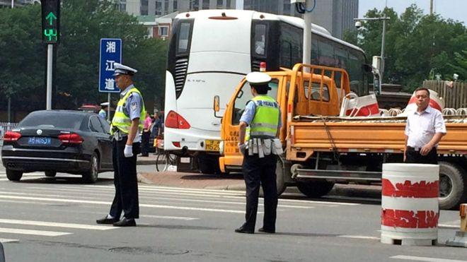 BBC | 中国维权律师抓捕:翟岩民煽动颠覆案在天津开审