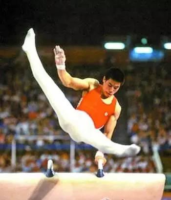图:汉城奥运会上的李宁