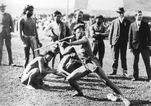 1904年圣路易斯 奥运会海报和标枪项目照片