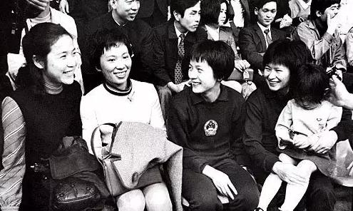 (60年代的中国女乒队员)