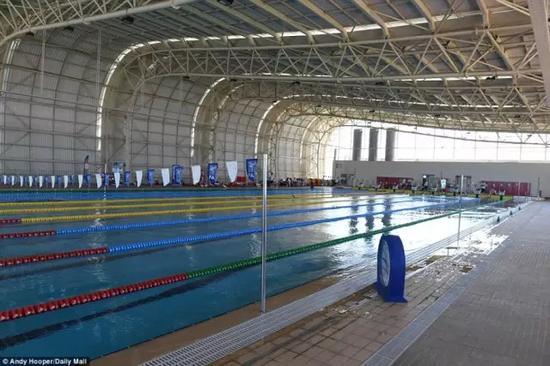 英国为运动员建的游泳池(图自某门户新闻)