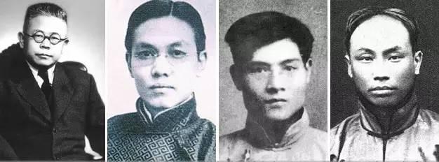 在北京混时,毛和这四位哥有交集。其中从左数第二个和第四个哥,很赏识毛,其余两个不咋爱搭理。