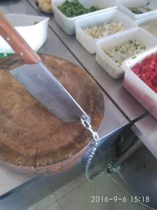 【河蟹档案】菜刀上锁,新疆真会玩