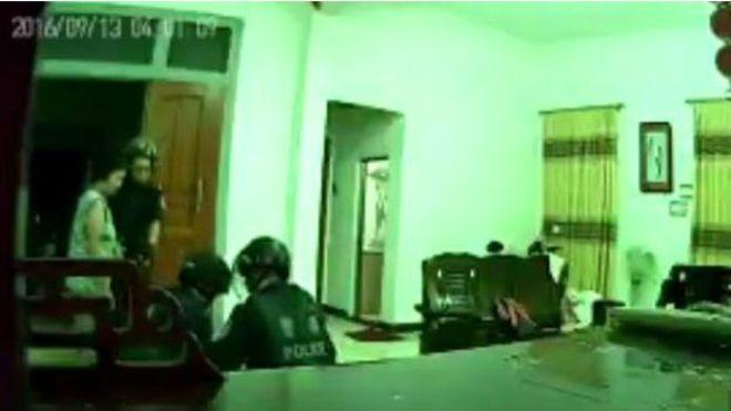 中国当局周二(9月13日)清晨突袭了广东乌坎村。