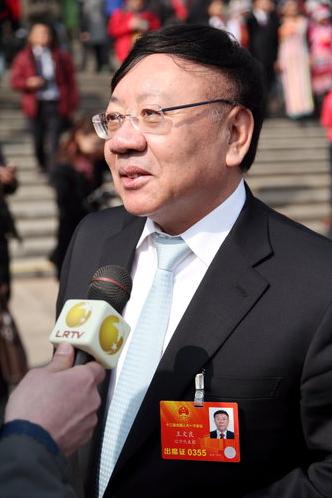 Imaginechina, via Associated Press 被卷入贿选丑闻的亿万富翁王文良。