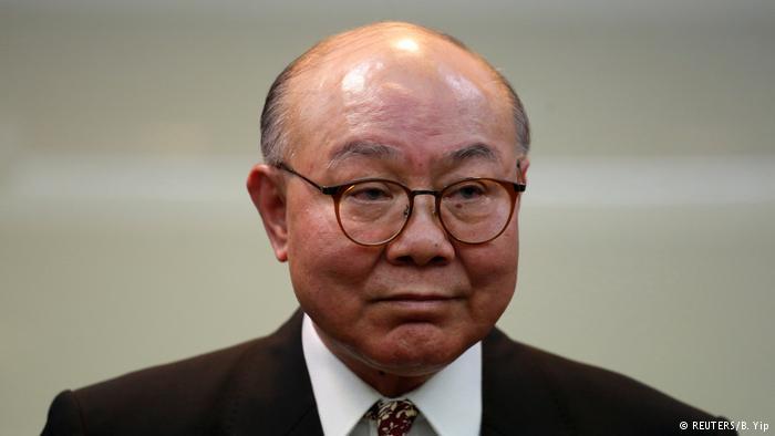 资料照片:香港高等法院退休法官胡国兴