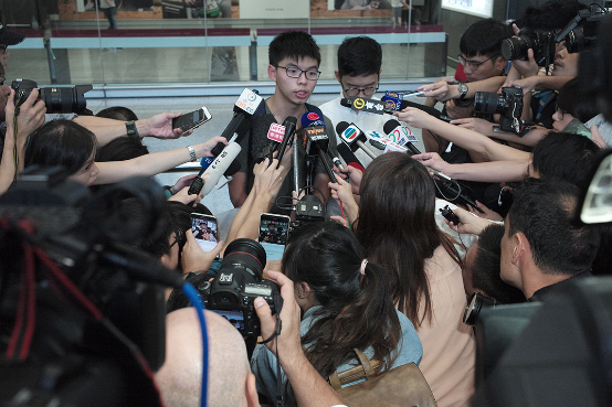端传媒   黄之锋:我在泰国收押所与世隔绝的12小时