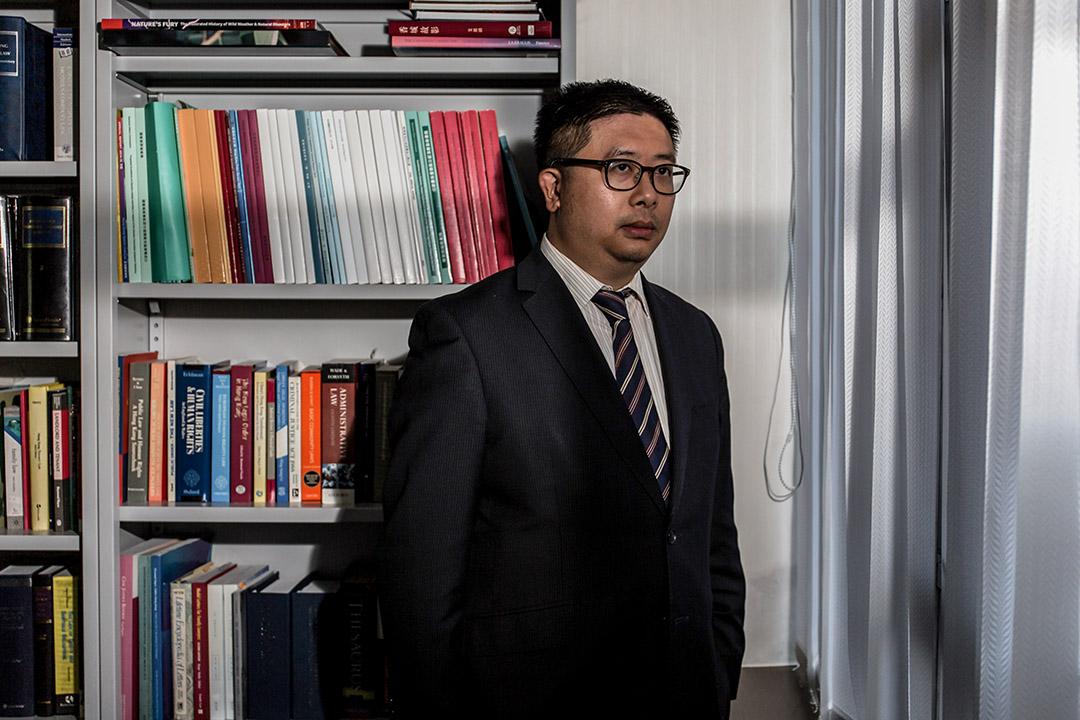 曾经协助斯诺登的香港律师文浩正