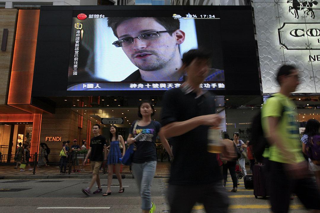 被美国政府通缉的斯诺登(Edward Snowden),在2013年曾匿藏香港近一个月。